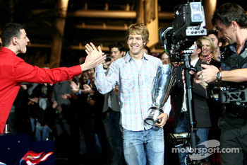 Sebastian Vettel and fans