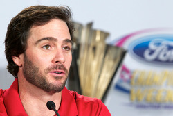 Championship contenders pre-race press conference: Jimmie Johnson, Hendrick Motorsports Chevrolet