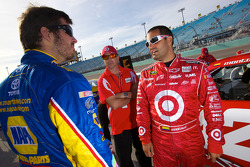 Martin Truex Jr., Michael Waltrip Racing Toyota and Juan Pablo Montoya, Earnhardt Ganassi Racing Chevrolet