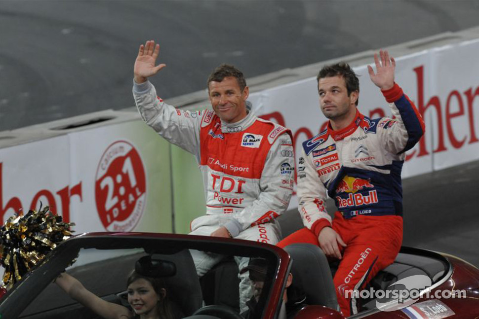 Tom Kristensen and Sébastien Loeb
