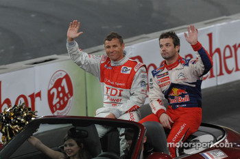 Tom Kristensen and Sbastien Loeb