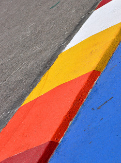 Track curb detail