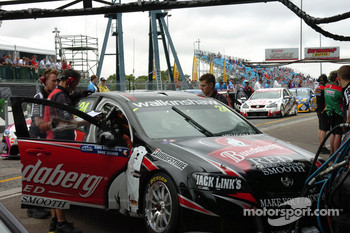 Bundaberg Red Racing pit