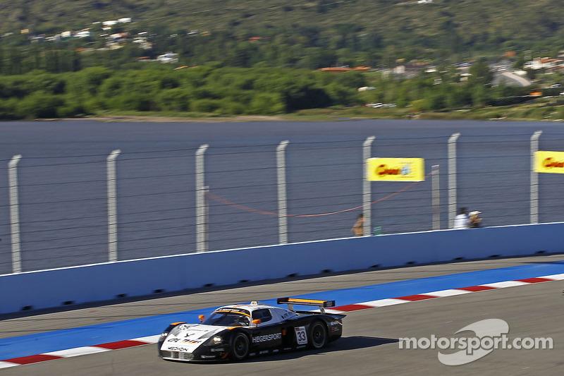 #33 Triple H Team Hegersport Maserati MC12: Altfrid Heger, Alex Müller