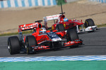 Jrome d'Ambrosio, Marussia Virgin Racing and Fernando Alonso, Scuderia Ferrari