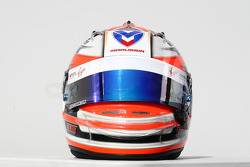 Timo Glock, Marussia Virgin Racing helmet