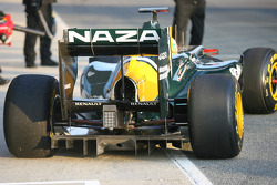 Jarno Trulli, Lotus rear