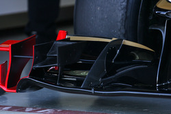 Lotus Renault GP technical detail, front wing