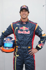 Daniel Ricciardo Test Driver, Scuderia Toro Rosso