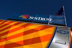 SunTrust Racing transporter