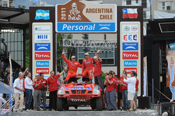 Podium: car category 8th place Christian Lavieille and Jean-Michel Polato