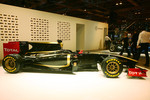 2011 Lotus Renault GP black and gold F1 car livery