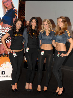 Superstock Powerboat Racing Promo Girls