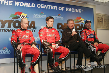 Press conference: Jon Fogarty, Alex Gurney, Bob Stallings and Jimmie Johnson