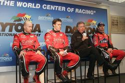 Press conference: Jon Fogarty, Alex Gurney, Bob Stallings and Jimmie Johnson
