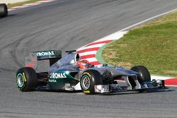 Michael Schumacher, Mercedes GP Petronas F1 Team