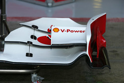 Ferrai front wing end plate