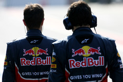 Red Bull Racing mechanics