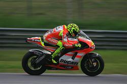 Valentino Rossi of Ducati Marlboro Team