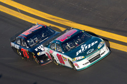 Dale Earnhardt Jr., Hendrick Motorsports Chevrolet and Regan Smith, Furniture Row Racing Chevrolet