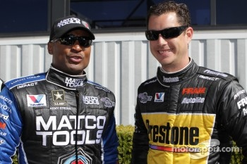 Team mates Antron Brown