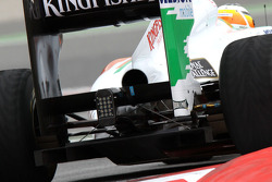 Force India F1 Team, technical detail of the rear