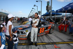 #68 Capaldi Racing Ford Mustang GT: Tony Buffomante, Kyle Gimple meeting the fans