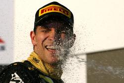 Podium: third place Vitaly Petrov, Lotus Renault GP