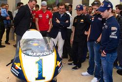 #1 Repsol Honda MotoGP bike