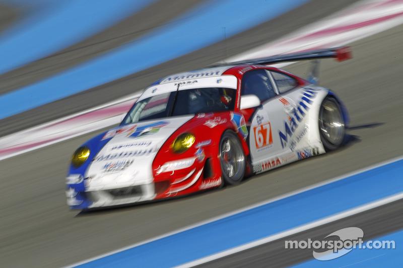 #67 IMSA Performance Matmut Porsche 911 RSR: Raymond Narac, Nicolas Armindo