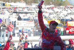 Victory lane: race winner Kevin Harvick, Richard Childress Racing Chevrolet celebrates