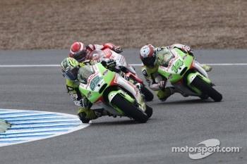 Loris Capirossi, Pramac Racing Team, Randy De Puniet, Pramac Racing Team