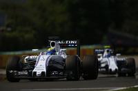 Формула 1 Фото - Фелипе Масса, Williams FW38, и Валттери Боттас, Williams FW38