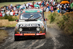 Vintage Renault rally car