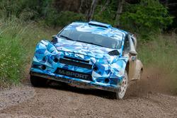 M-Sport Ford Fiesta WRC gravel testing