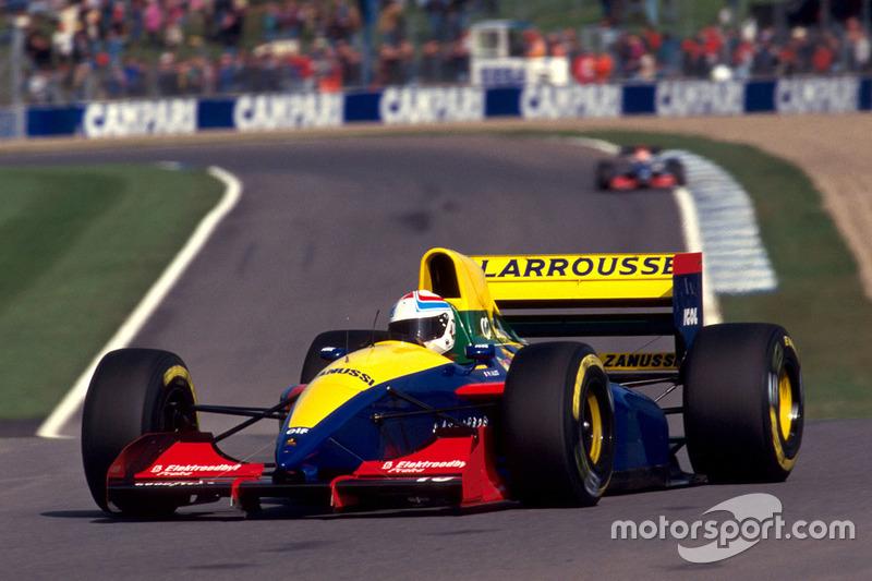 Lamborghini   1989 – 1990, 1993:  Larrousse