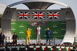Podium: Jake Dennis, Arden International, Jack Aitken, Arden International and Jake Hughes, DAMS