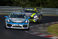 VLN Photos - Mark J. Thomas, Daniel Bohr, Frank Schmickler, Porsche Cayman GT4 Clubsport