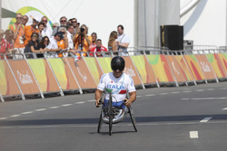 Alex Zanardi at the Paralympic Games
