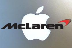 Apple McLaren logo mashup