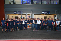 ELMS Foto - LMP3 class champions United Autosports group photo
