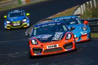VLN Photos - Moritz Gusenbauer, Marcel Hoppe, Porsche Cayman GT4 Clubsport