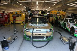 Carl Edwards' garage