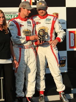 DP podium: third place Ryan Dalziel and Mike Forest