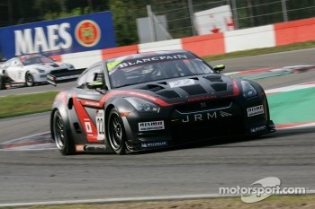 #22 Peter Dumbreck, Richard Westbrook; Nissan GT-R; JR Motorsports