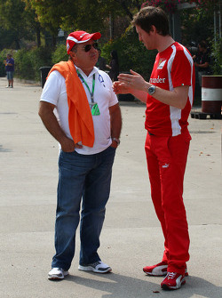 Rob Smedly, Scuderia Ferrari, Chief Engineer of Felipe Massa