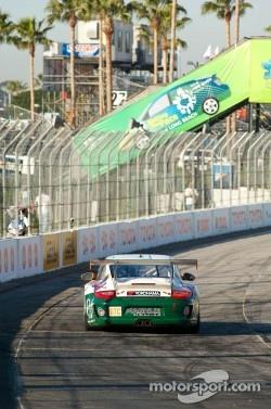 #54 Black Swan RacingPorsche 911 GT3 Cup: Tim Pappas, Jeroen Bleekemolen