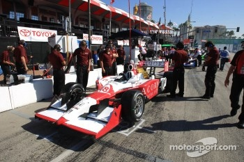 Car of James Jakes, Dale Coyne Racing