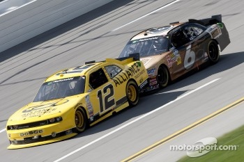 Sam Hornish Jr. and Ricky Stenhouse Jr.