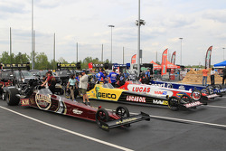View of the staging Lanes